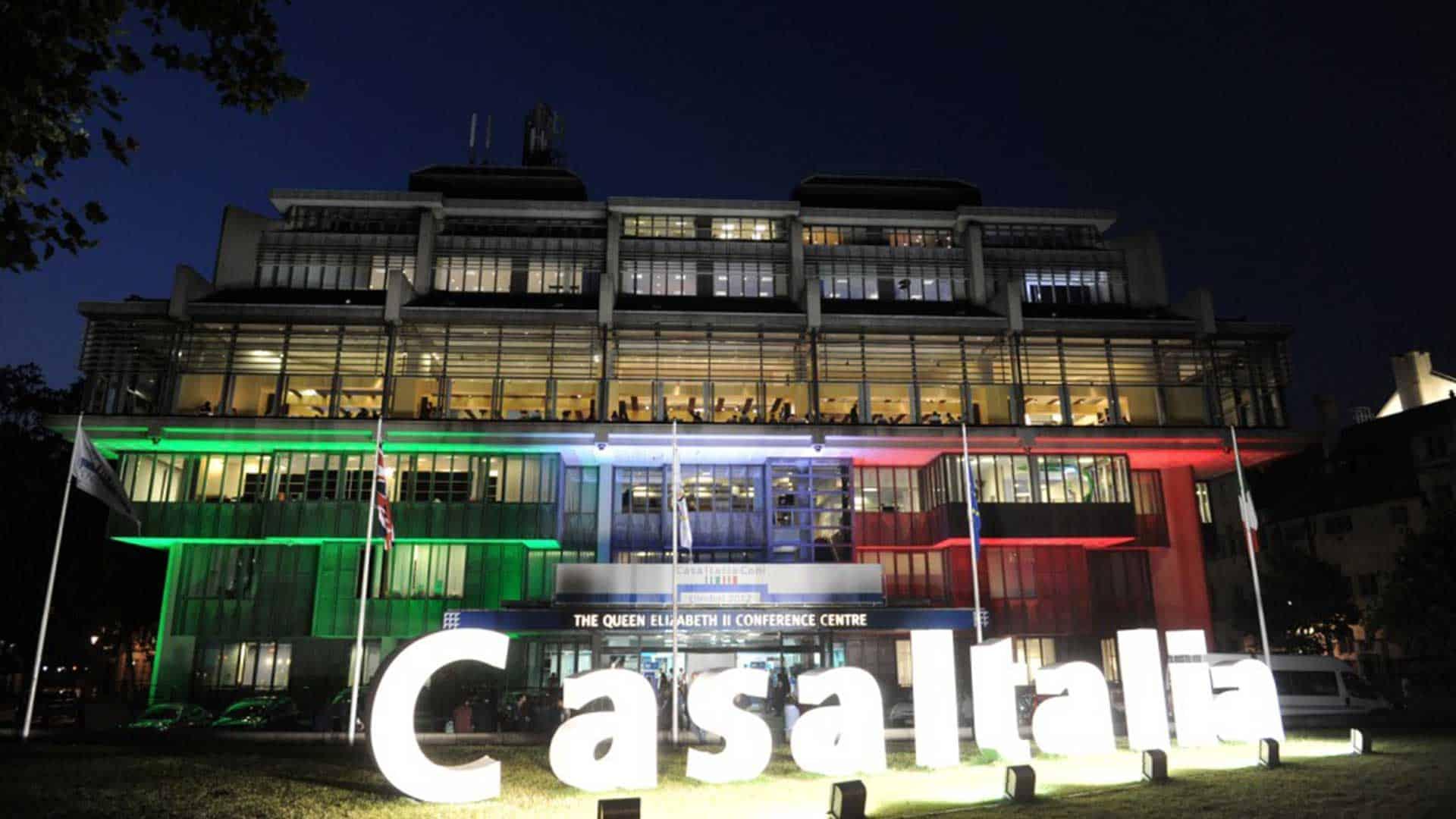 CASA ITALIA LONDRA 2012